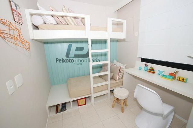 Apartamento 3 quartos com lazer e Pet Care - Transporte para o metrô - Foto 3