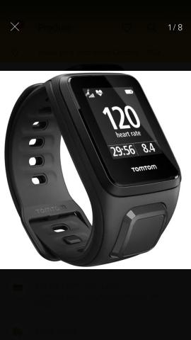 Relógio Tomtom Spark Cardio, GPS, Multisport, Cárdio, Music e acompanha Fone Bluethoot