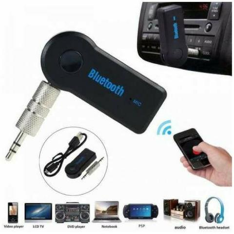 Adaptador Bluetooth P2 - Auxiliar