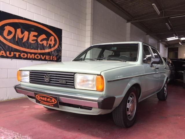 Vw - Volkswagen Voyage S 1983 4 portas Turbo Legalizado, raridade !!!
