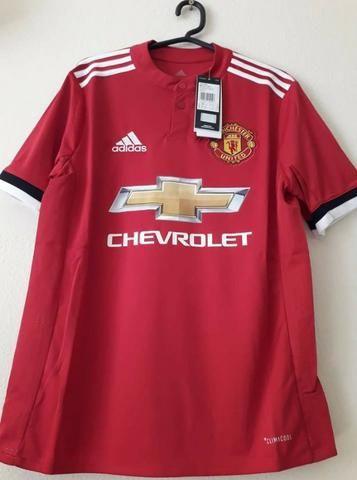 92607d790d Camisa Manchester United Infantil Home Torcedor Adidas original - Vermelha