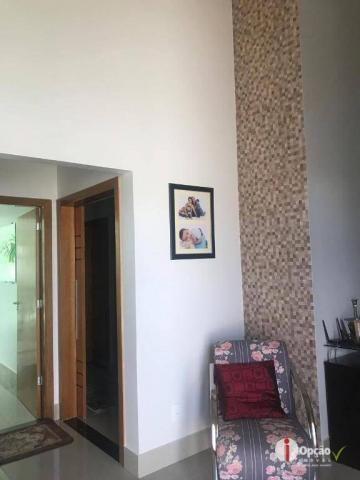 Casa com 3 dormitórios à venda, 234 m² por r$ 550.000,00 - residencial portal do cerrado - - Foto 6