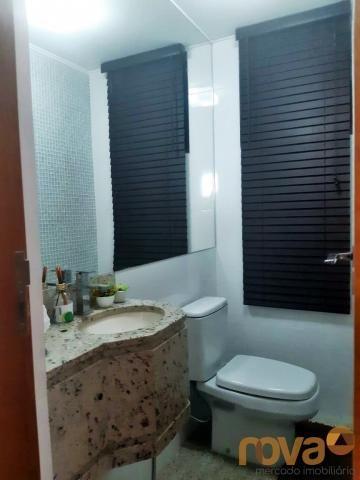Apartamento à venda com 3 dormitórios em Setor bueno, Goiânia cod:NOV235797 - Foto 8