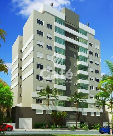 Apartamento à venda com 3 dormitórios em Nossa senhora das dores, Santa maria cod:1293 - Foto 2