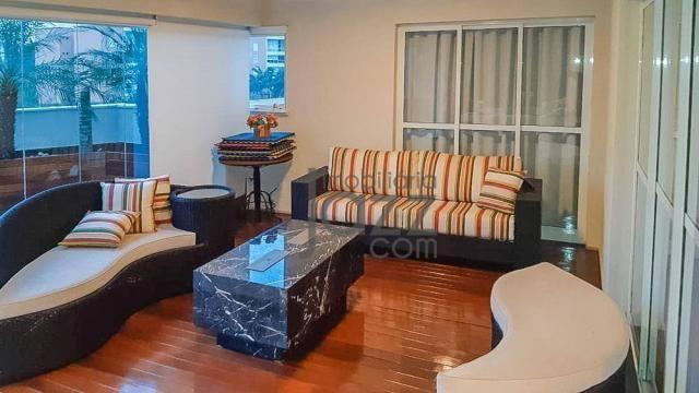 Maravilhoso apartamento com 4 dormitórios à venda, 240 m² por R$ 2.600.000 - Foto 3