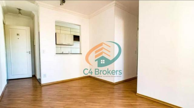 Apartamento com 2 dormitórios para alugar, 45 m² por R$ 1.547,00/mês - Ponte Grande - Guar
