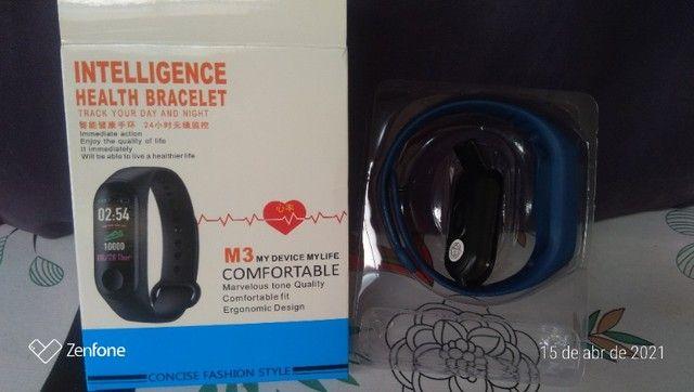 Relógio bracelete batimento cardíaco - Foto 3