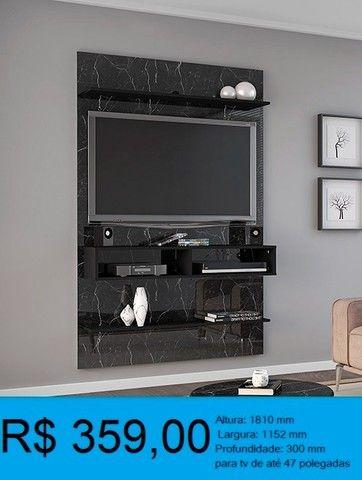 painel de tv madeira rustica -compre pelo whatssap e pague na entrega! - Foto 4