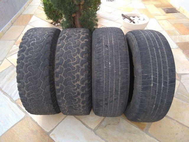 Vendo pneus 245/70R16 - Foto 5