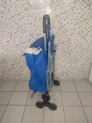 Exclusivo carrinho térmico com cadeira. - Foto 2