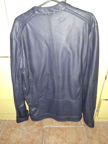Jaqueta de couro Italiana Alcott(extra grande) - Foto 4