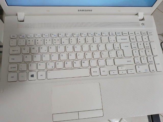 "Notebook Samsung I5 15.6"" Branco - Foto 5"