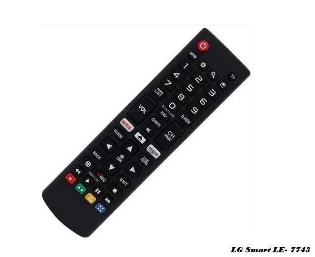 Controle Remoto Smart Para Tv Aoc Le-7463 C/tecla - Foto 2