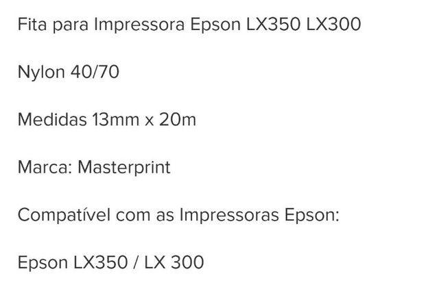 Fita de Impressora - Foto 2
