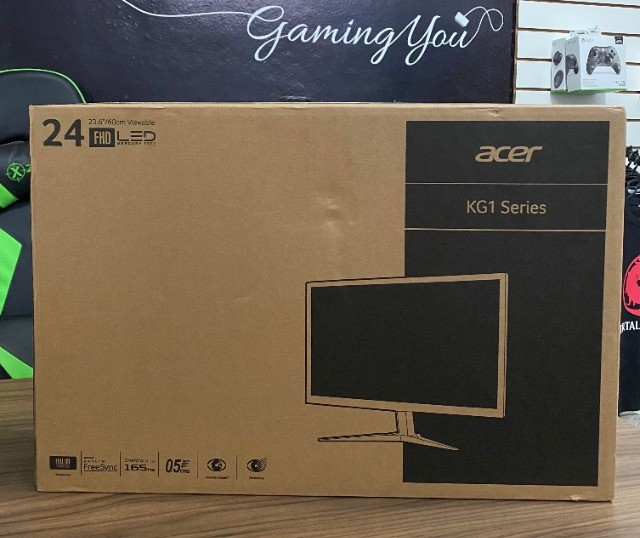Monitor Gamer Acer 24' KG1 Novo - Ipatinga