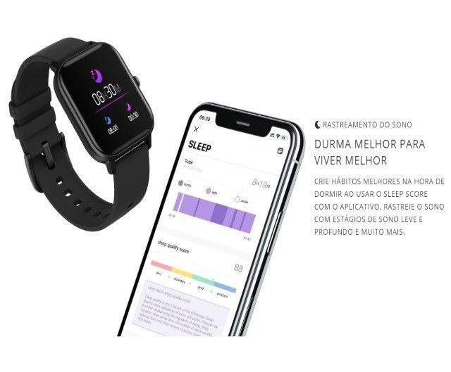 Relógio Inteligente Smartwatch Colmi P8 Esportes Fitness Bat Cardiacos  - Foto 2