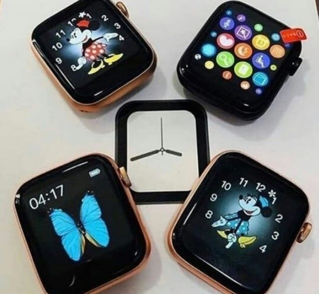Smartwatch Relogio Iwo Max T500 Android Samsung Ios iPhone