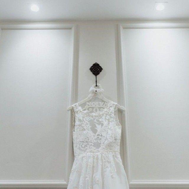 Vestido de noiva manequim 36 - Foto 2