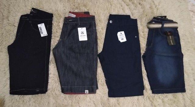 Excelentes Bermudas Jeans Masculinas  - Foto 3