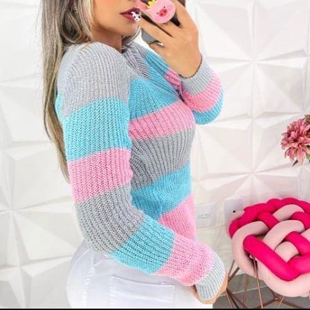 Linda camisa tricô - Foto 2