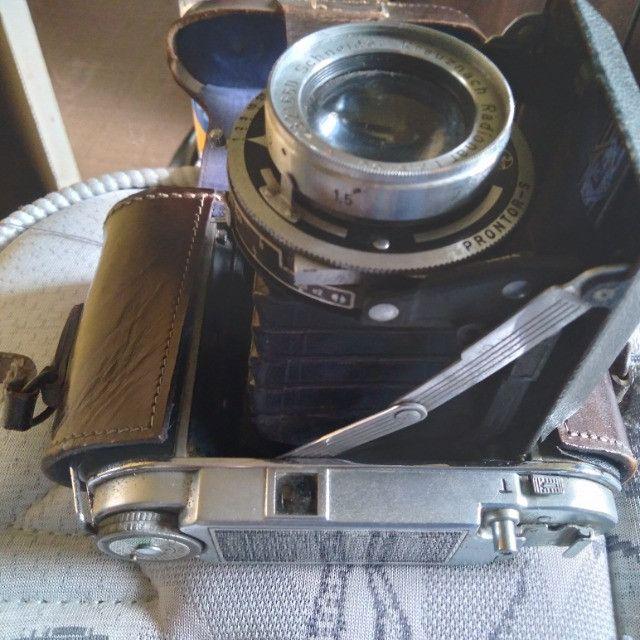Câmera Fotográfica de Fole Alemã Franka Solida III. Antiga Zona US 1951 VER anúncio  - Foto 3