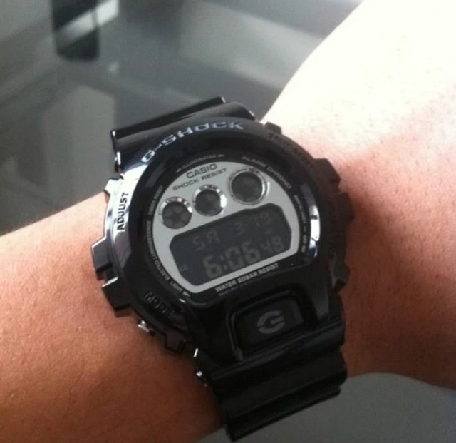 Relógio g-schok dw-6900nb-1dr *original* - Foto 6