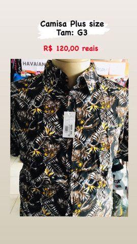 Lojas de roupas pluizsize masculina - Foto 5