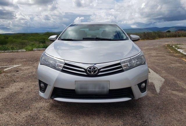 Toyota Corolla 2.0 Aut. Xei 2015 Pneus Novos Ipva 2021 Pago - Foto 9