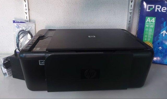 Impressora Multifuncional F4480 + Garantia + cartucho preto + A4 - Foto 2
