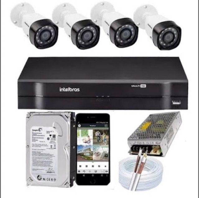 Aluguel CFTV câmeras e Dvrs