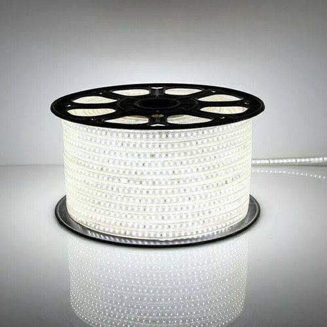 Fita de led 5050 branco frio metro