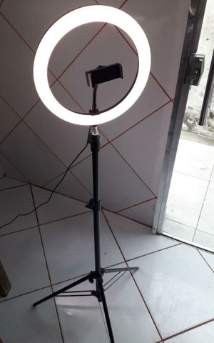 Ring light com luz de 26cm