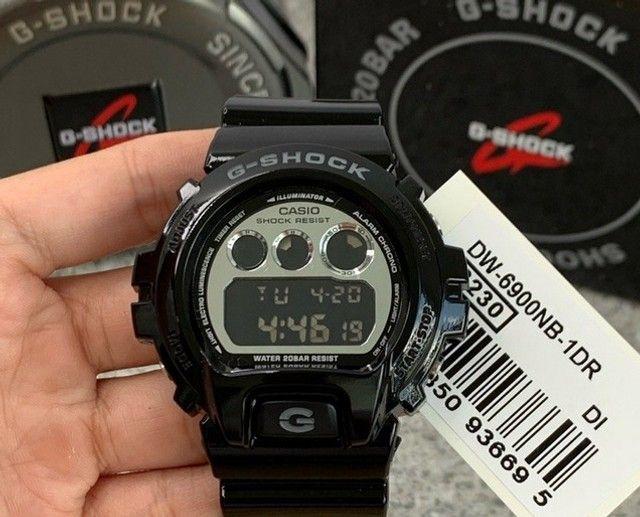 Relógio g-schok dw-6900nb-1dr *original*