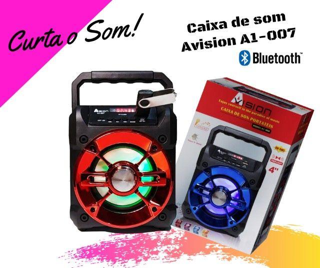 Caixa de Som Bluetooth   Avision A1-007 - Foto 5