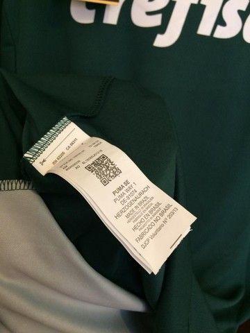 Camiseta Palmeiras 20/21 - Patch Campeão Libertadores  - Foto 4