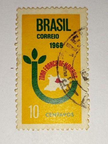 Coleção de selos antigos - Foto 4