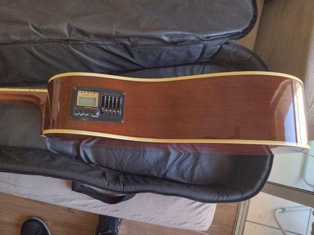 Violão Hofma 12 cordas com equalizador - Foto 5