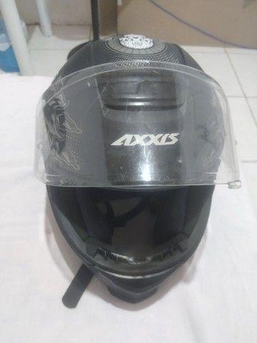 Vendo capacete semi novo - Foto 4