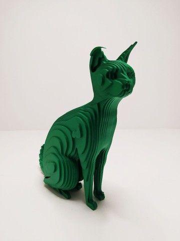 Escultura gato Tukan