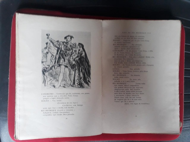 Livros: Romeu e Julieta e A Famosa Hist. do Rei Henrique VIII (William Shakespeare) - Foto 3