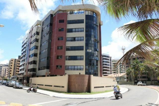 Edifício Enseada Jatiúca à Beira MAR + Piscina + 4 quartos