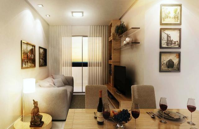 Apartamento 2/4 com suíte - Entrada Facilitada - 1 minuto da FTC - Bairro SIM - Foto 2