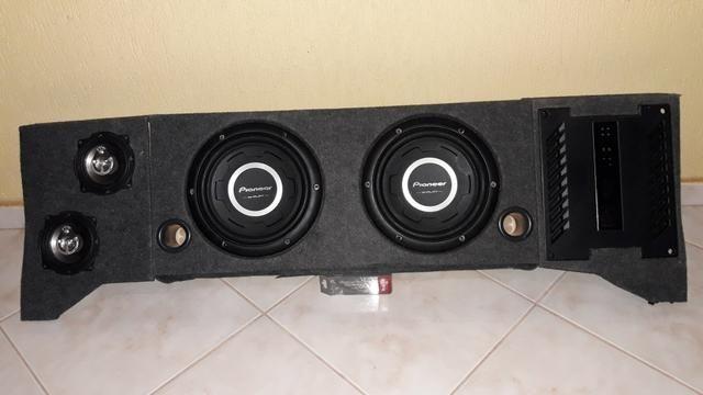 Caixa de som projetada mdf - Foto 3