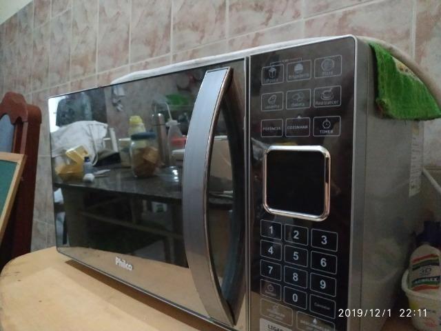 Microondas Philco Espelhado 25L - Foto 5