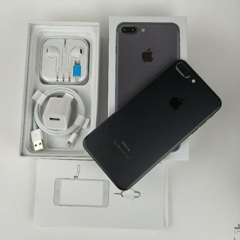 Iphone 7 PluS Preto 32GB!! Acessórios + Garantia - Foto 4