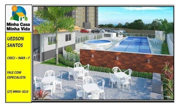 UED-19 - Apartamento 2 quartos vista da reserva - Foto 3