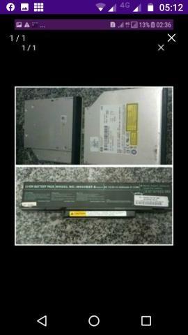 V/t bateria notebook 130,00 positivo e gravadoras 50,00 cada zap *