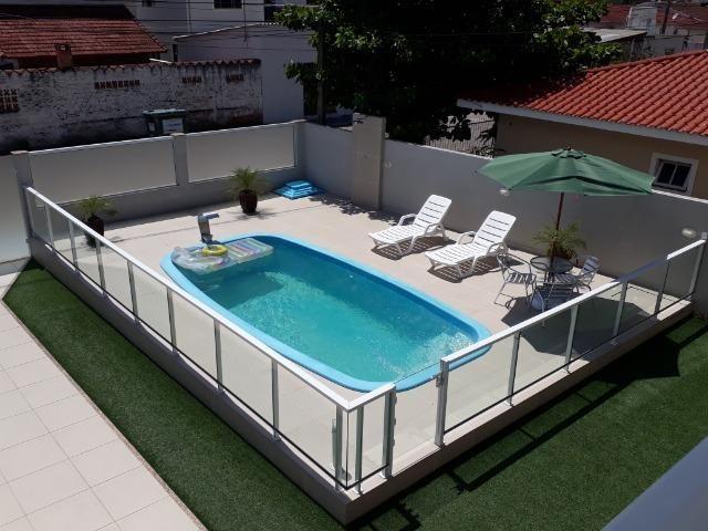 Casa de alvenaria com piscina - Foto 16