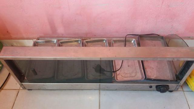Vendo estufa o vidro quebrou - Foto 2