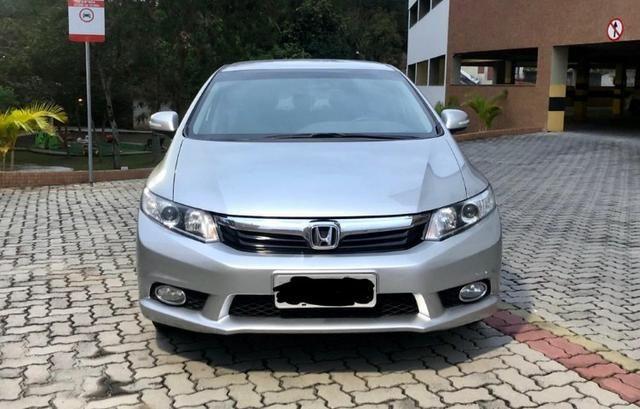 Única dona - Civic 2.0 LXR automático 2014 - Foto 2